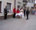 Zaun bei Hochzeit