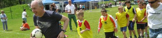 Abschlussgrillen aller Jugendmannschaften samt Eltern der Sektion Fußball