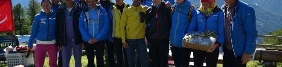 V.Hühnerspiel Vertical-KM: Manfred Reichegger und Astrid Renzler dominieren das Finale der Südtirol Vertical Tour /  Manfred Reichegger e Astrid Renzler dominano la finale della Südtirol Vertical Tour