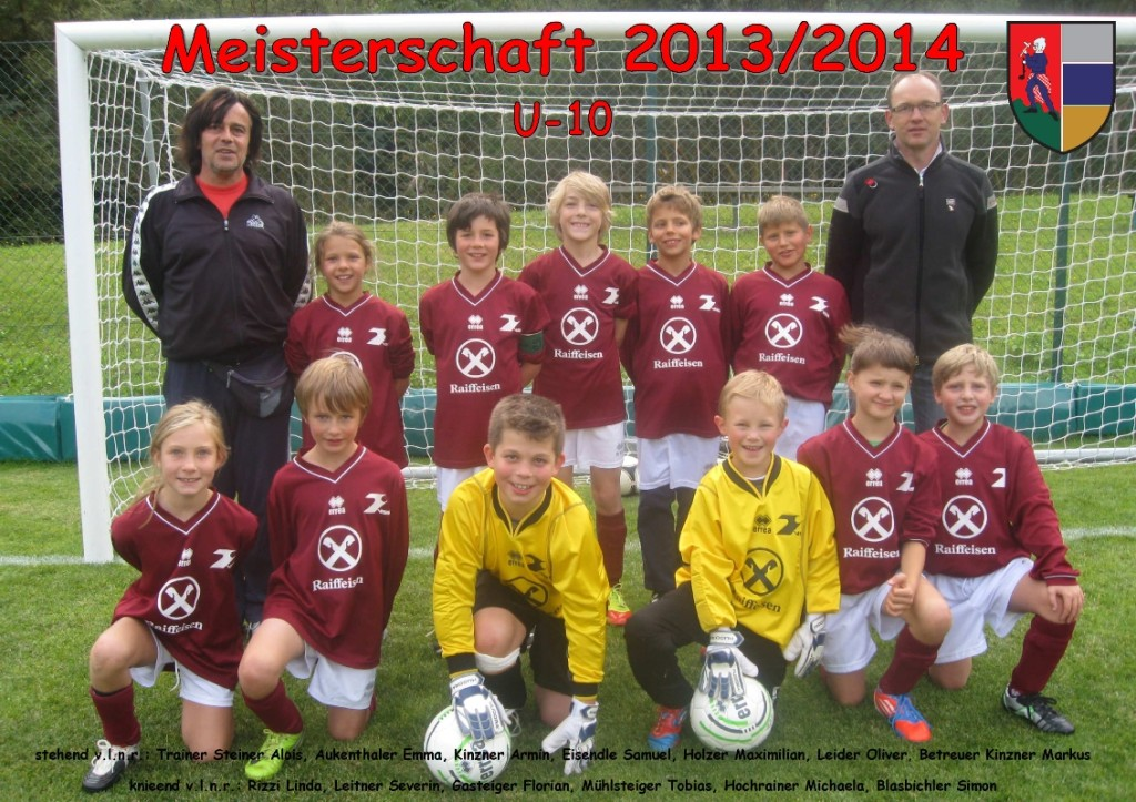 ASVG - Sponsorbild Jugendmannschaft U-10-Jugend - Saison 2013-2014-1_r
